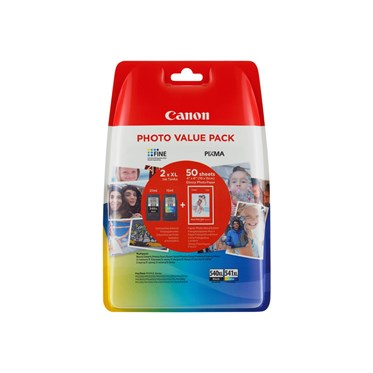Pack Canon PG 540 XLCL-541XL Photo Value