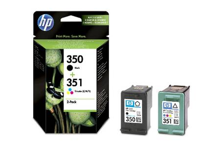 Pack cartouches HP 350 et 351